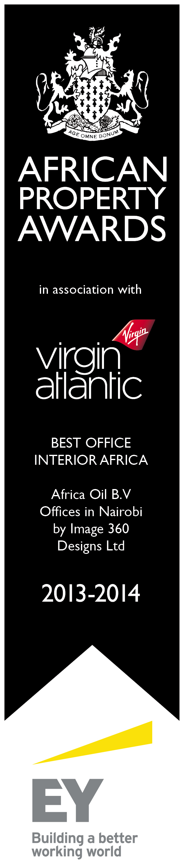 African Property Award (2013-2014) for Best Office Interior Africa
